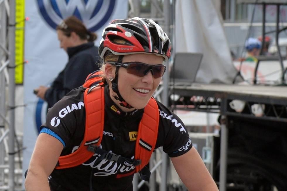 Heidi Sandstø på NCFs paneldebatt om jentesykling