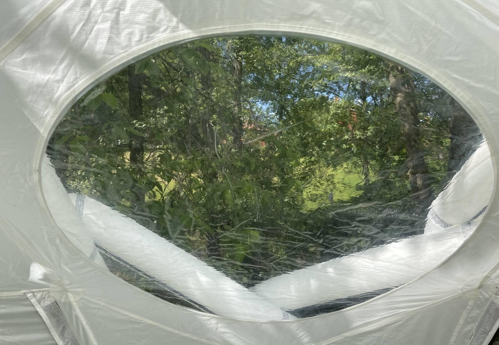 heimplanet mavericks vindu oppblåsbart telt