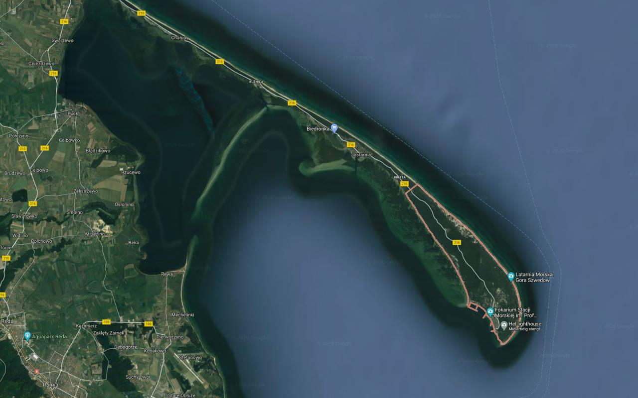 Hel Peninsula Polen kite