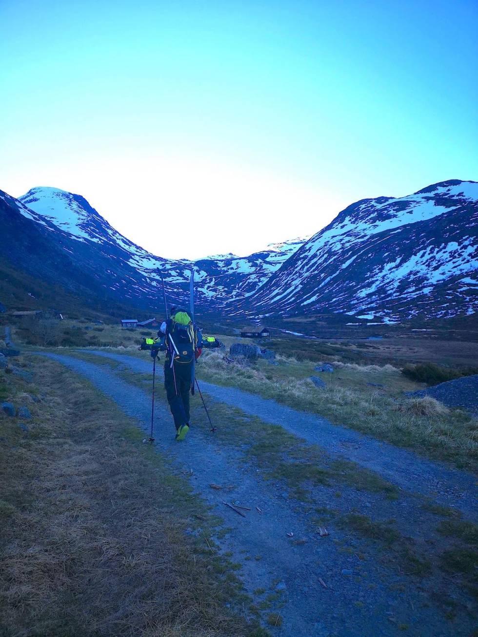 skitur Helgedalen Jotunheimen