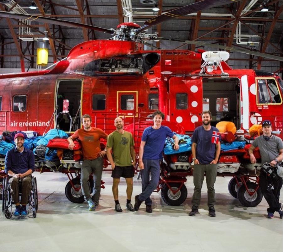 Helikopter grønland ekspedisjon