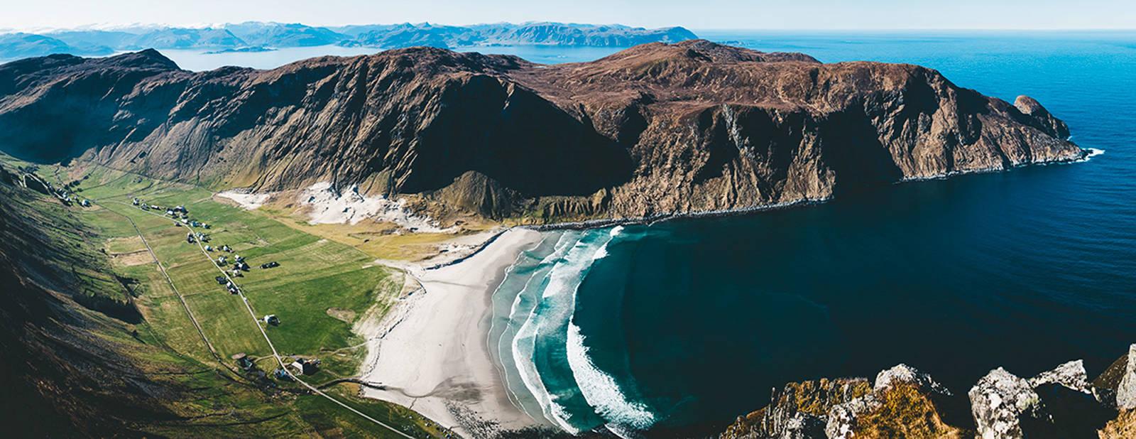 Sorry Unstad, men Hoddevika er faktisk den aller vakreste surfebukta i Norge. Bilde: Lapoint