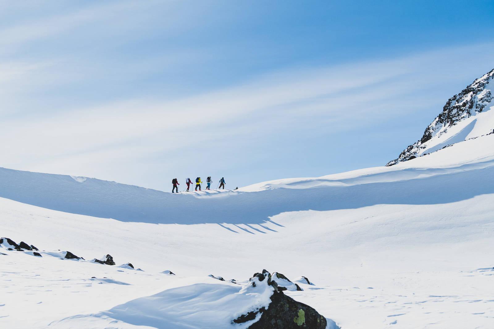 Første etappe av høgruta i Jotunheimen går fra Bessheim eller Gjendesheim til Besshøe og videre til Memurubu. Bilde: Hans Kristian Krogh-Hansen