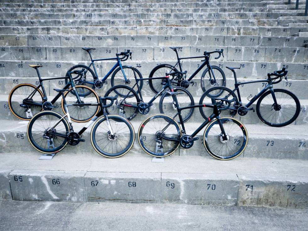 Prisforskjell på dyre sykler