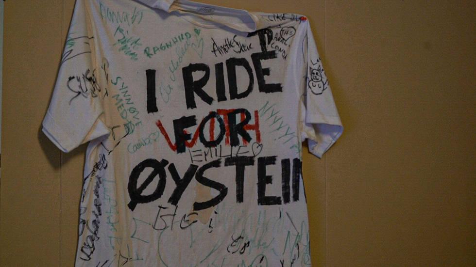I ride for Øystein Aasheim