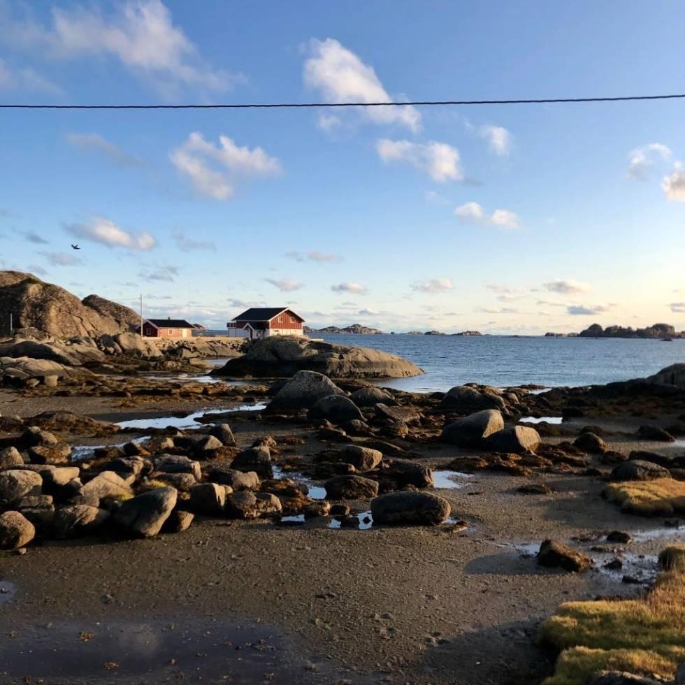 HAV: Man kan bli sjøsyk av en slik nærhet til havet. Foto: Jonas Orset