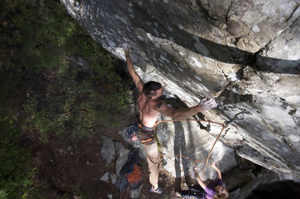 Belastningsskader, klatring, Gudmund Grønhaug