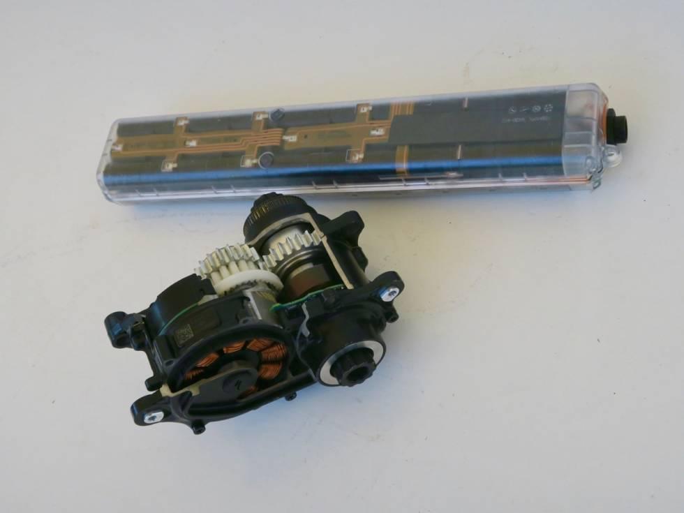 Batteri og motor