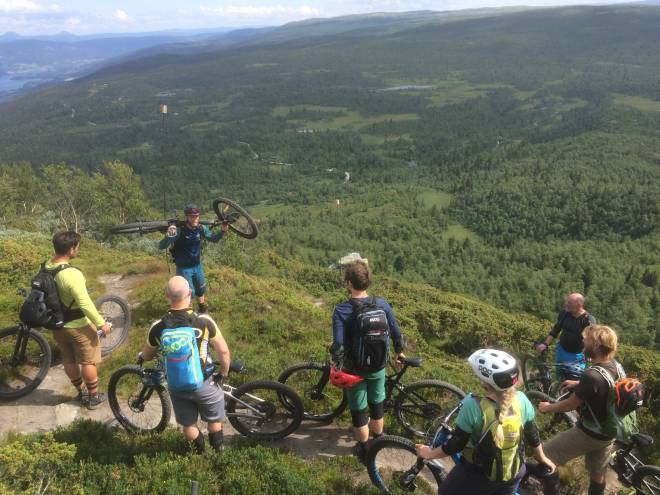 Bli kjent med andre syklister