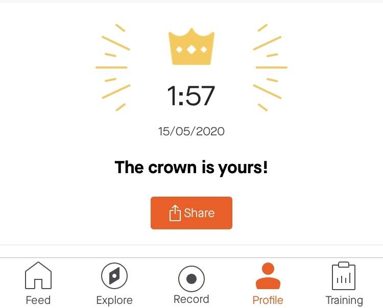the crown is yours