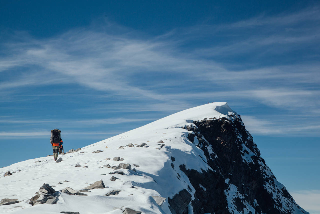 fjelltur til glittertind