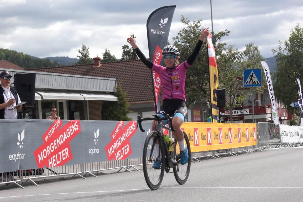 Ingvild Gåskjenn vant Tour te Fjells 2019