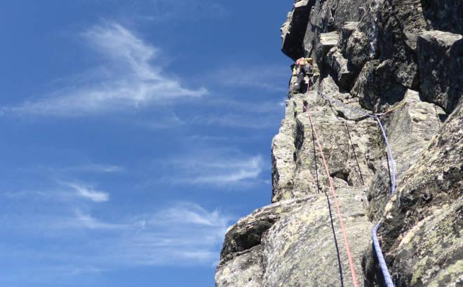 innerdalen klatring fjellklatring Innerdalstårnet