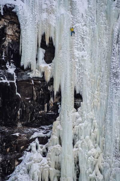 Isklatring-Flågbekken