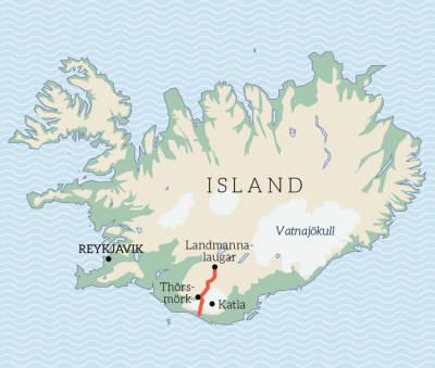 Island-Stisykling-kart