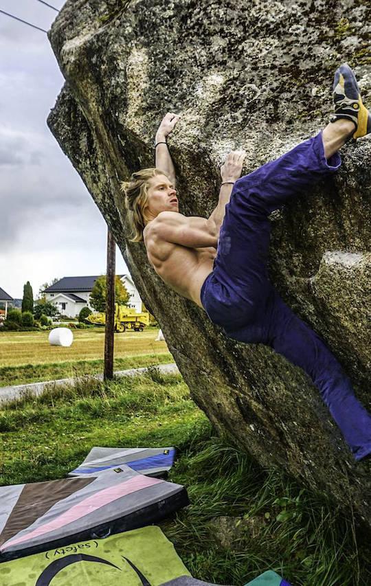 Joakim Sveen, Bergen klatreklubb
