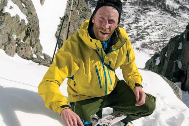 snøskred klatring Jørgen Aamot