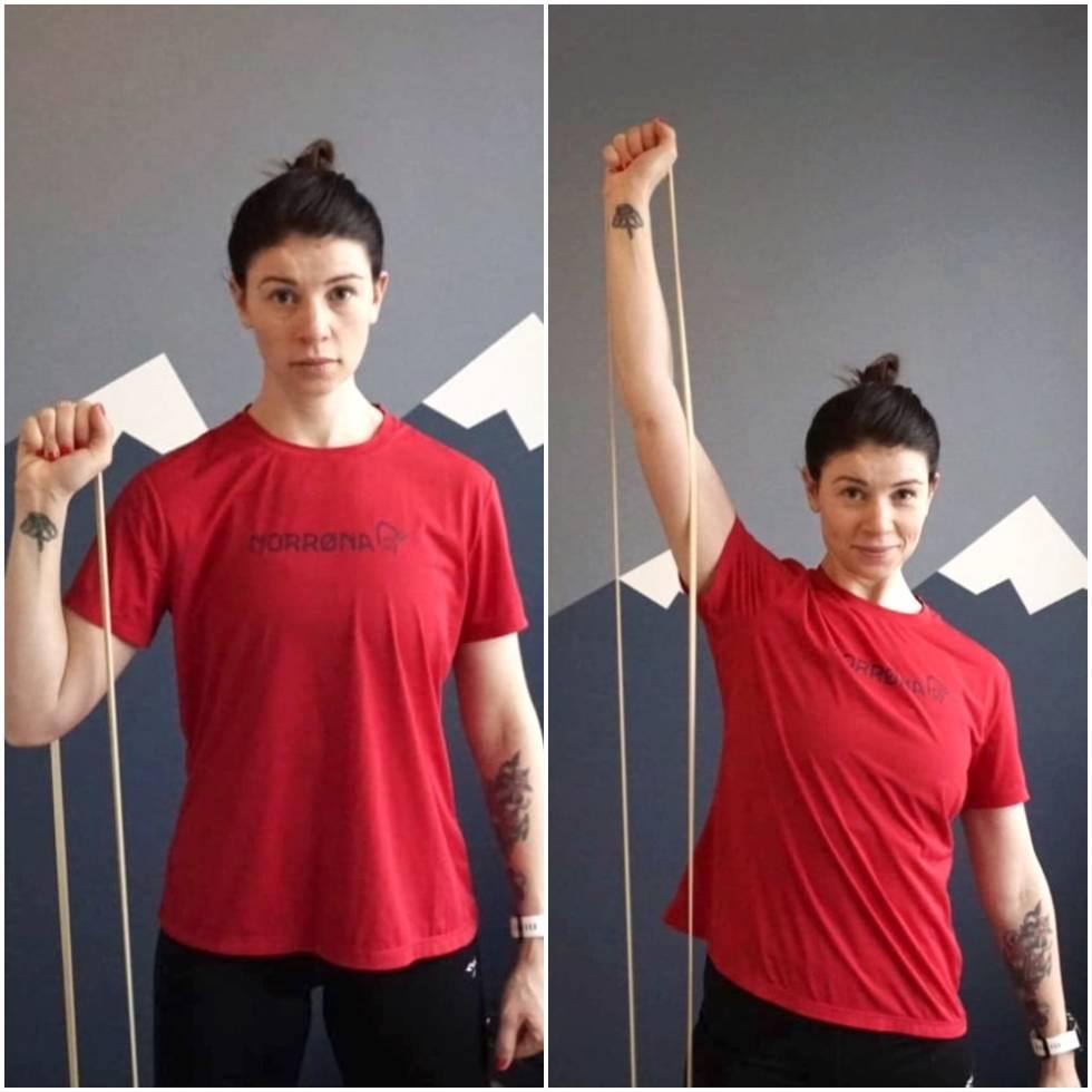 Joline Johansson styrketrening