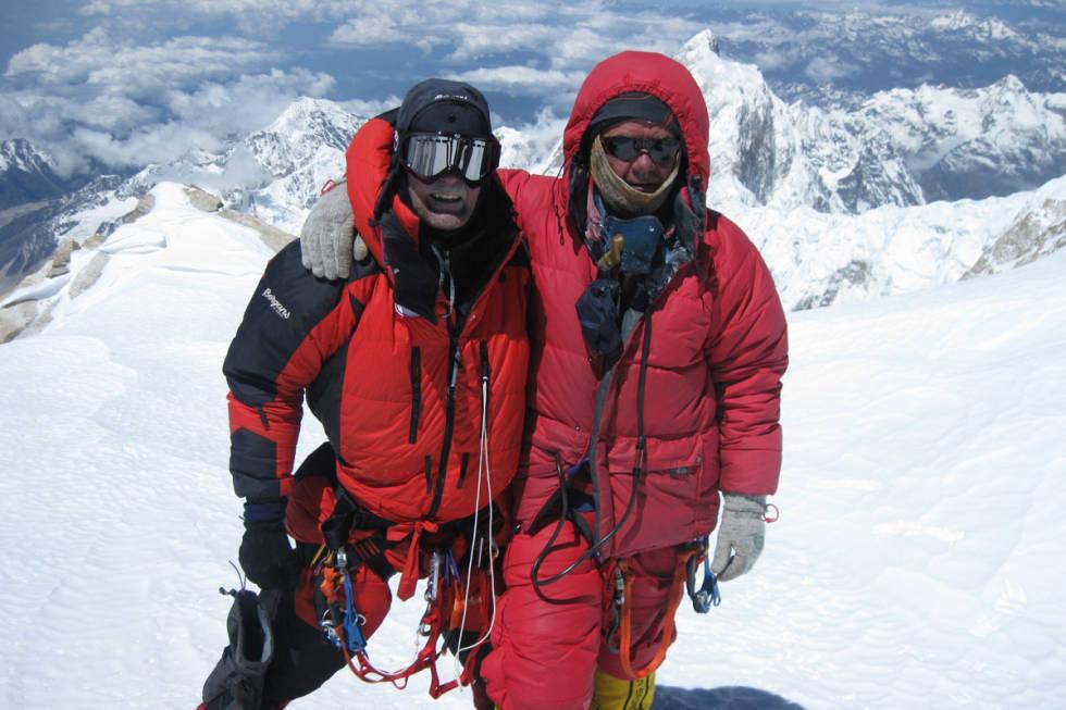 Jon Gangdal Kangchengjunga første nordmann