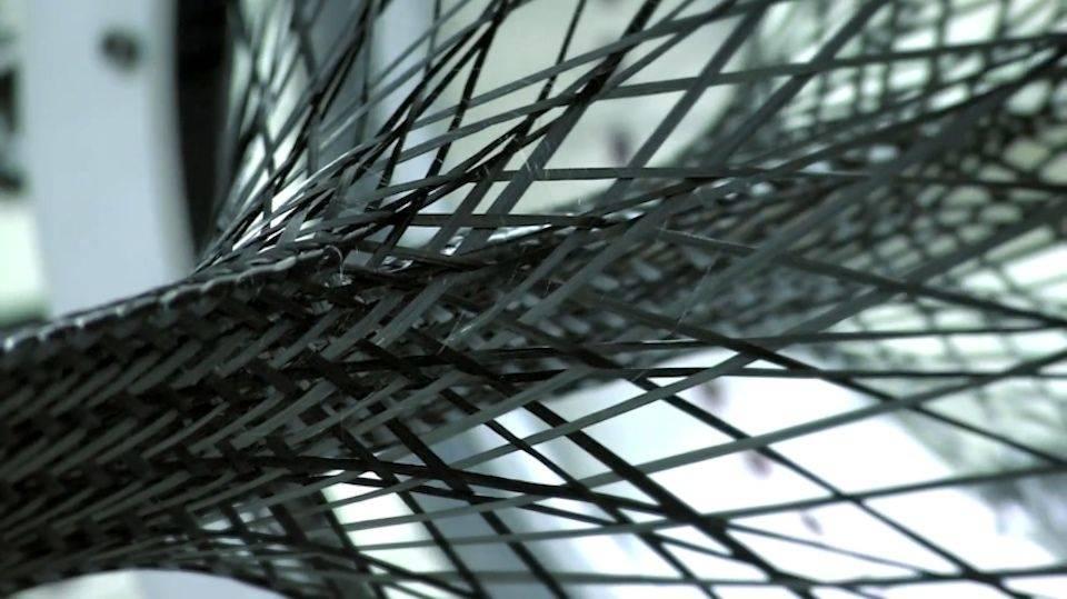 Karbon veves til fiber