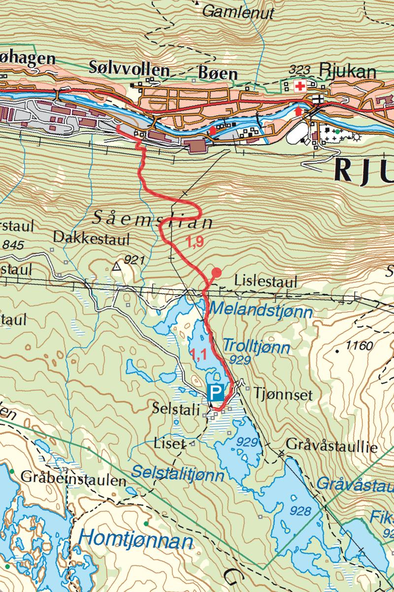 Rjukan Selstali Kart
