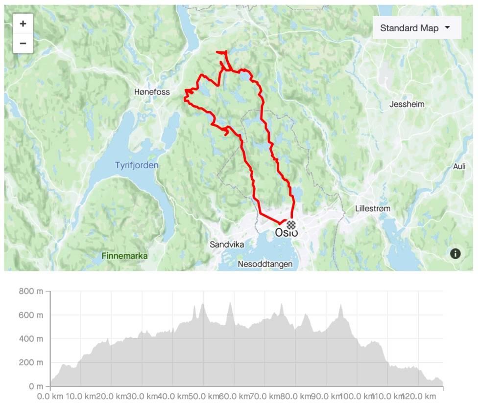 kart-og-høydekurve-fem-høyeste-topper-i-nordmarka