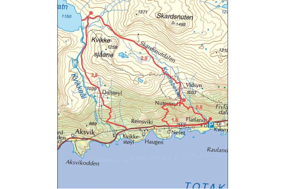 Totak telemark rauland hardangervidda tur guide
