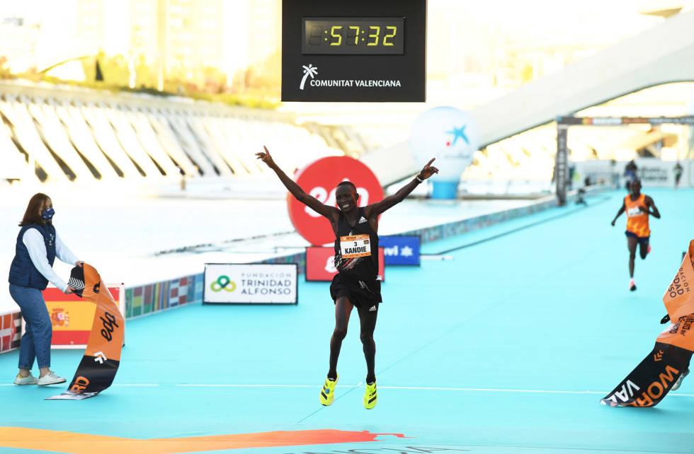 Halvmaraton-rekord