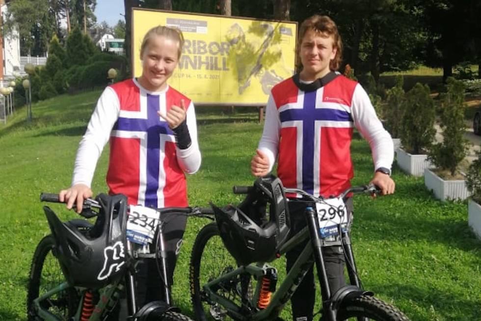 Tvillingene Kine og Emil Haugom EM 2021