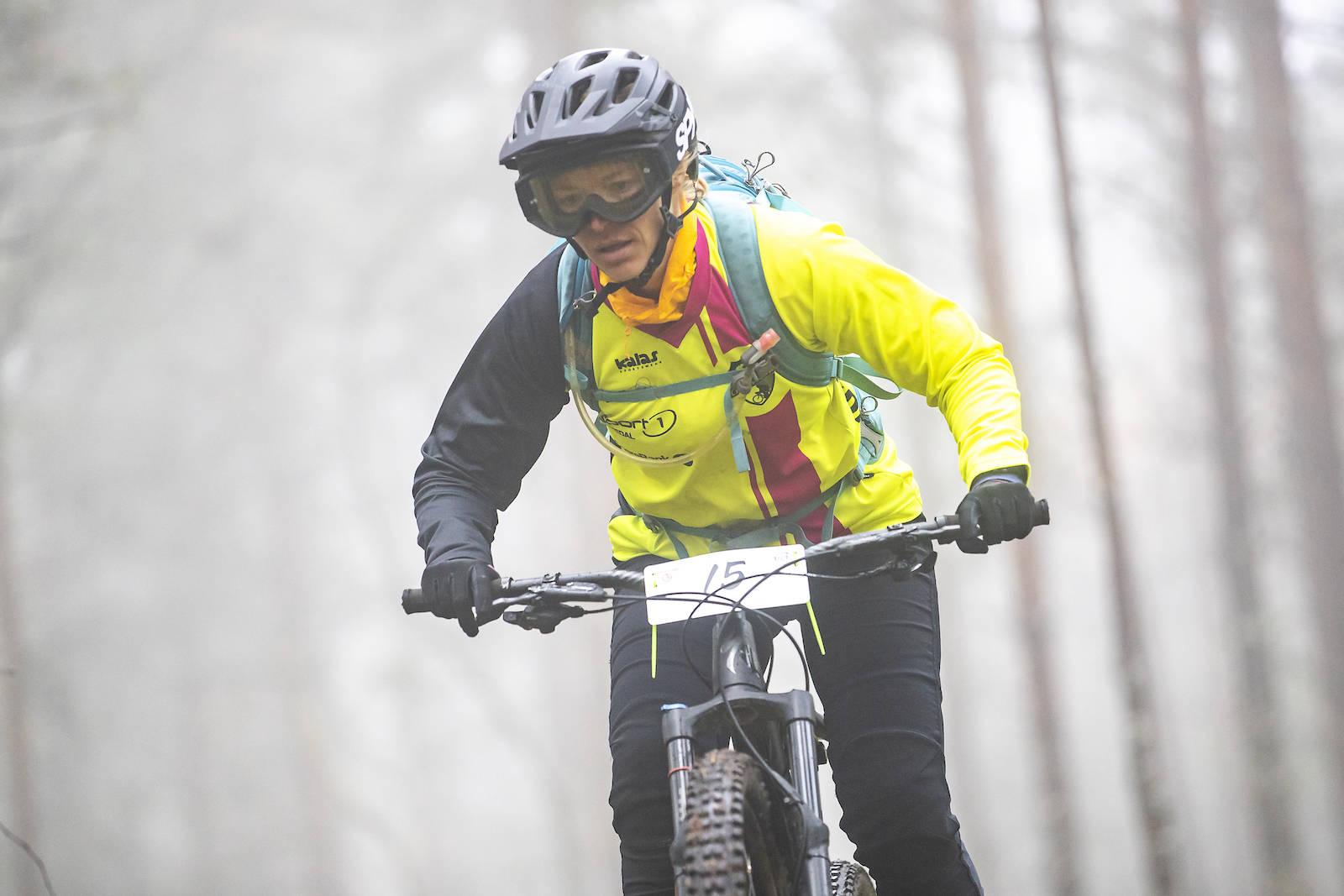 Kine Lidsheim fra Nittedal CK tok tredjeplass sammenlagt i Østafjells-serien.  Foto: Pål Westgaard
