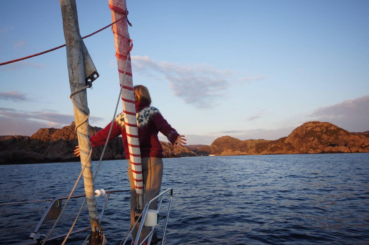 Kjell Harald Myrseth seilbåt-