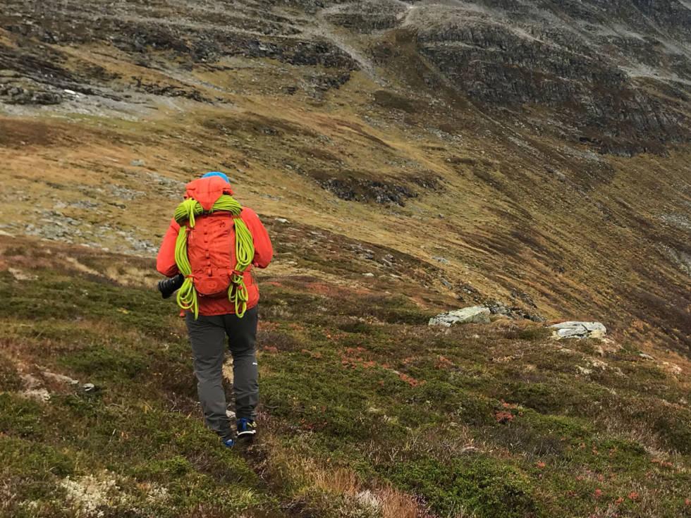 test sekk fjellklatring