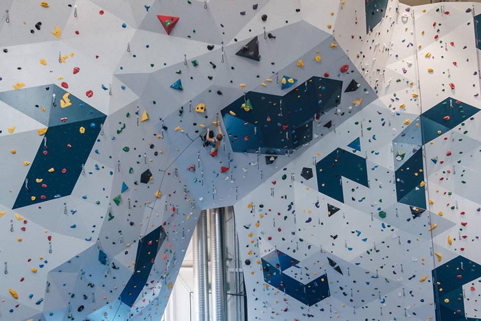 mørkvedhallen klatring inneklatring vegg