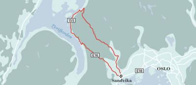 Kleivstua-langtur-Landevei-Kart