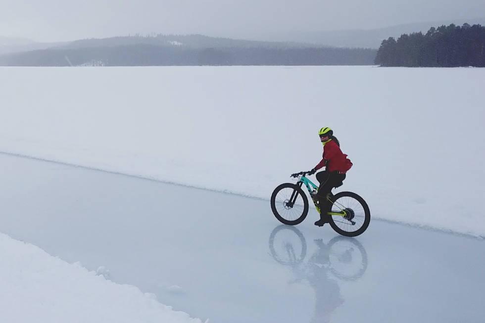 Elisabeth Sveum fronter Kloppa Ice Race