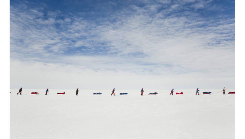 Kryssing av Grønland. Foto: Line Hårklau