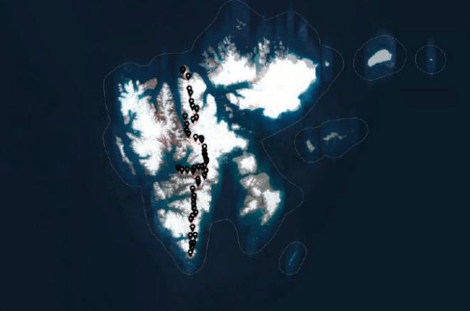 kryssing av spitsbergen ekspedisjon