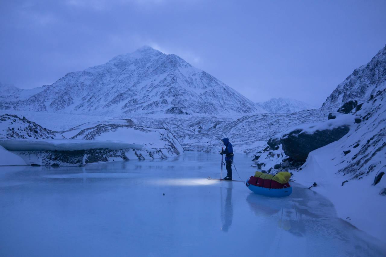 kryssing av Spitsbergen vindent colliard Caroline cote