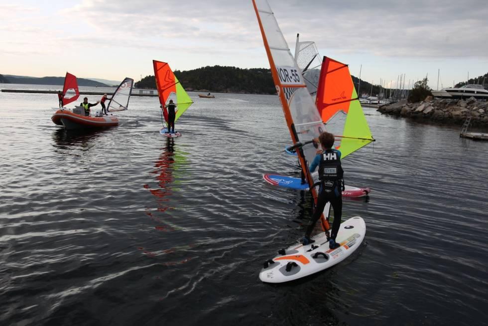 Kurs drøbak windsurfing