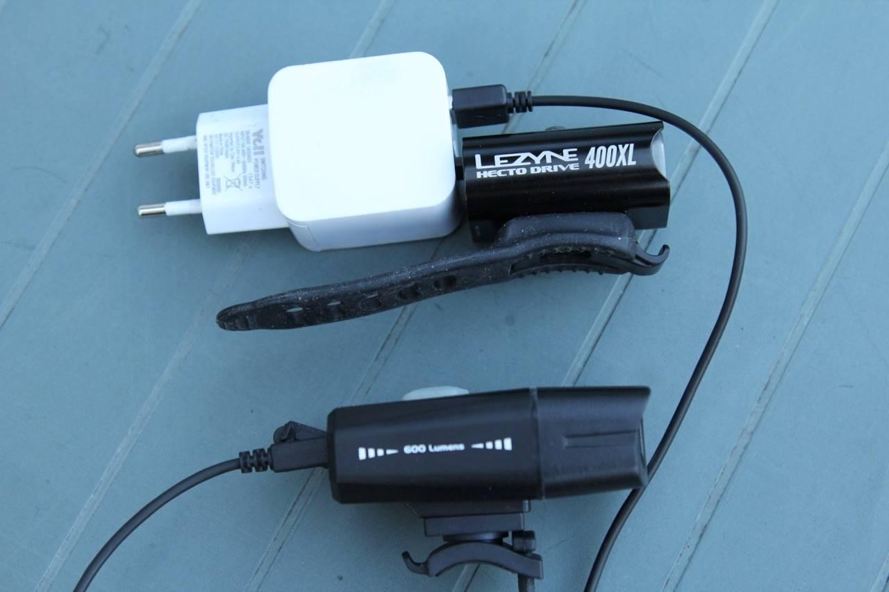 Lading av lykter med USB