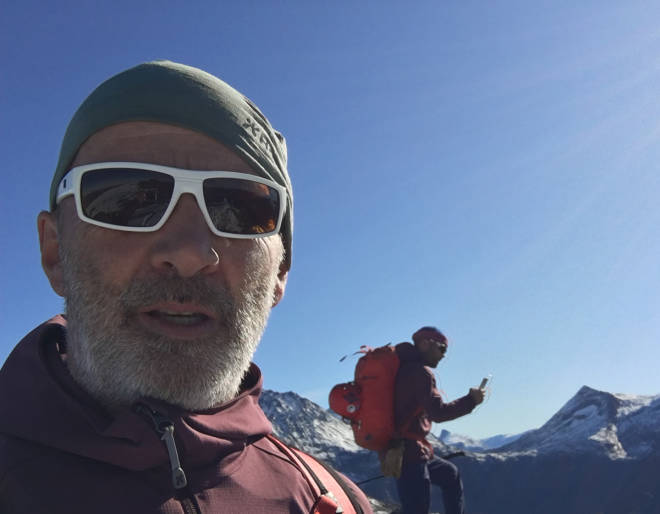 NORTIND Leif Inge Magnussen tindevegleder guide klatring