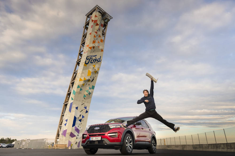 Leo Bøe vant Ford Suv på Over i Lillesand