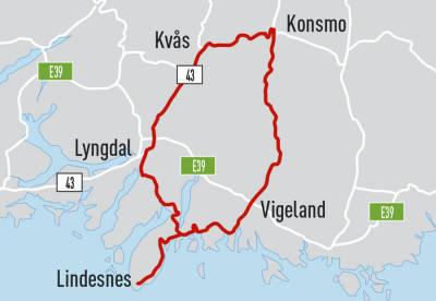 Lindesnesrunden-Norges-flotteste-Kart