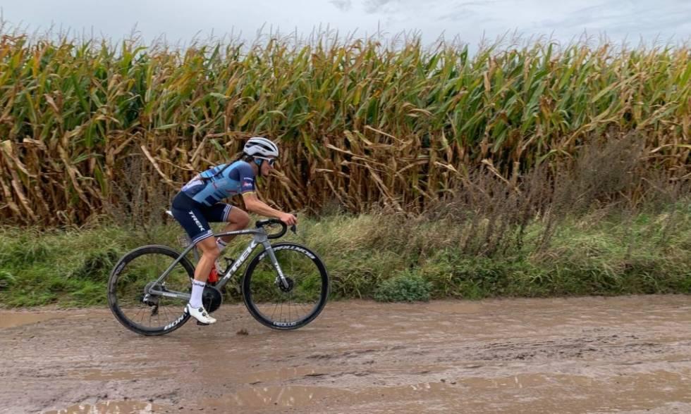 Lizzie Deignan Roubaix