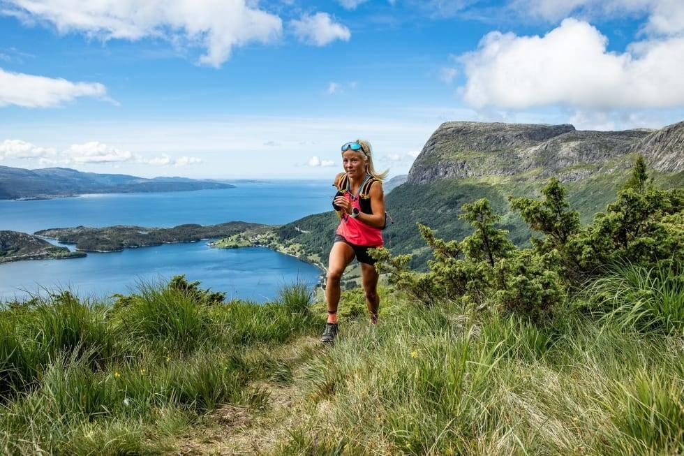 sognefjorden på langs løpetur malene haukøy