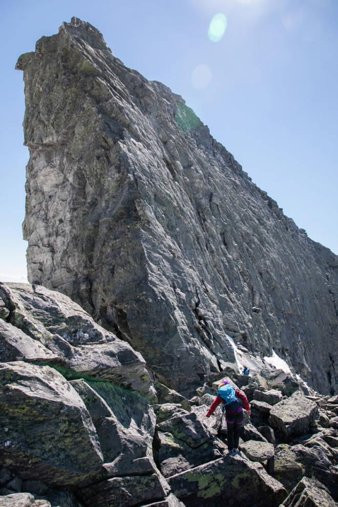 test fjellklatresekk Mammut Trion Nordwand