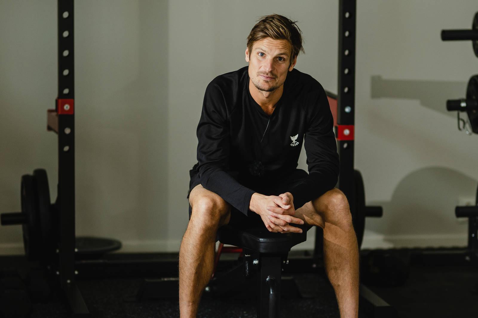Spesialist i idrettssfysioterapi og manuellterapeut på Olympiatoppen Lars Haugvad. Bilde: Christian Nerdrum