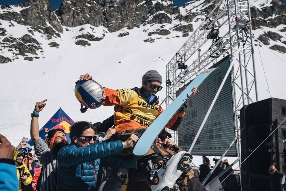 HEMMELIG PROSJEKT:  Til vinteren skal Eder filme til et hemmelig prosjekt. Bilde: Daniele Molineris/Red Bull