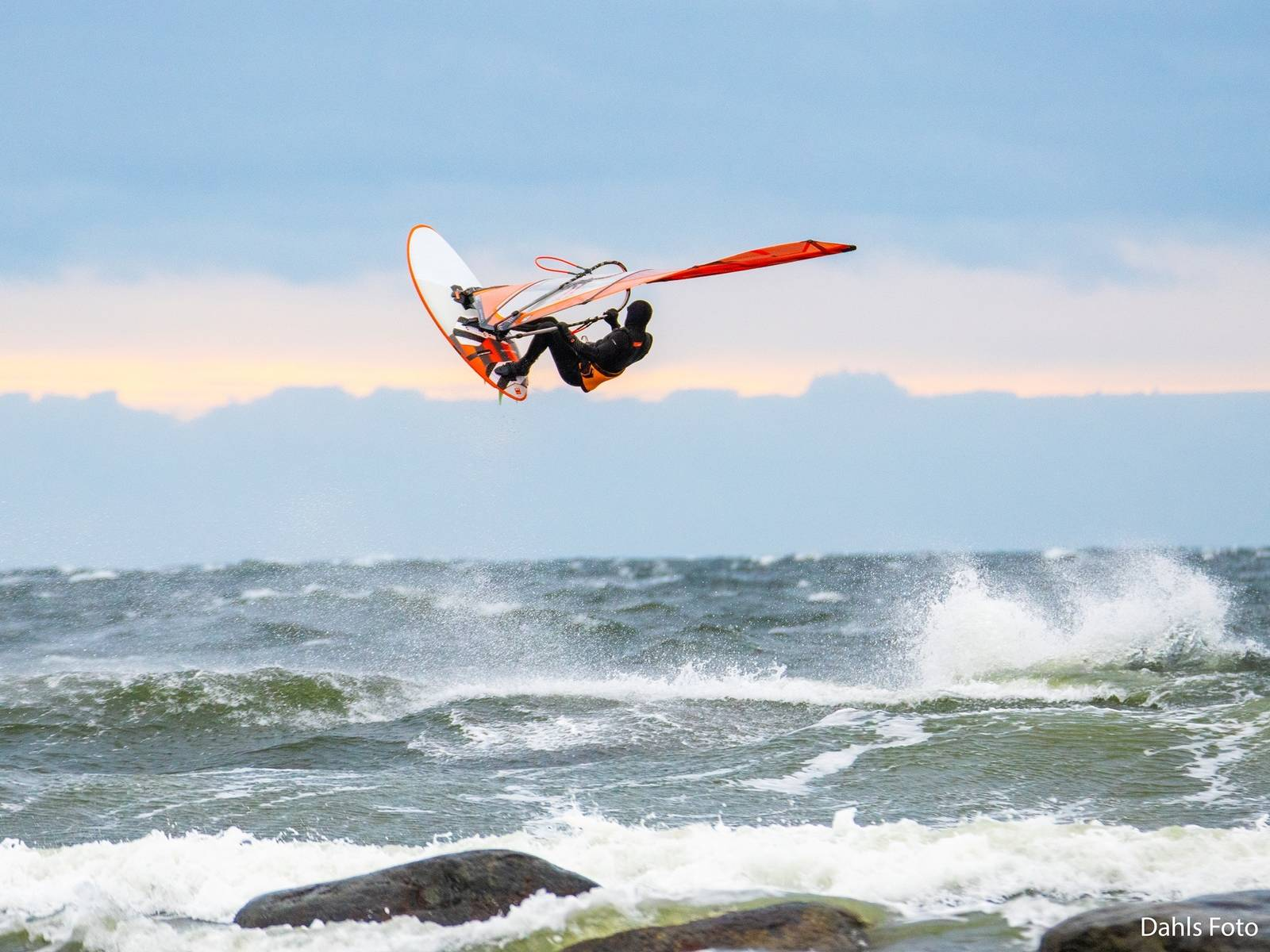 Markus Allen Windsurfing saltstein