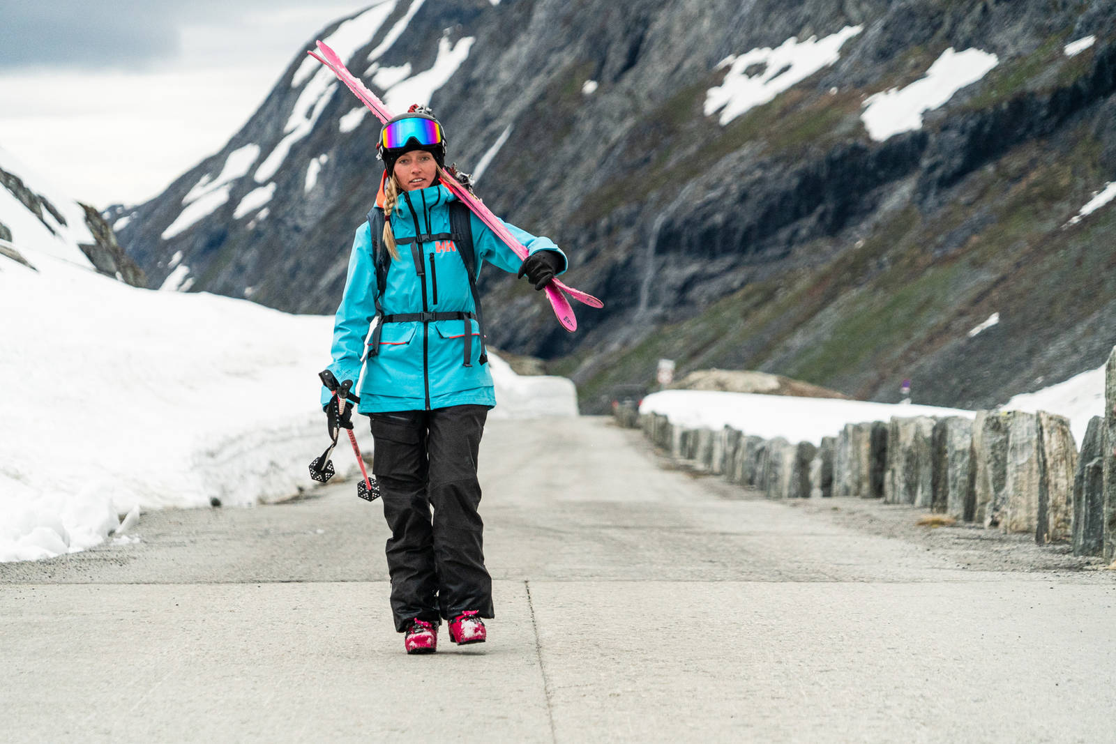 Marte Tveten på Stryn. Bilde: Christian Nerdrum